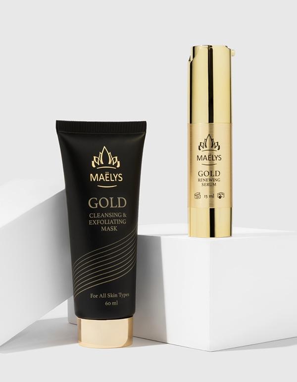 GLAMOUR - 24K Gold Mask & Serum